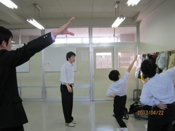 体育祭練習